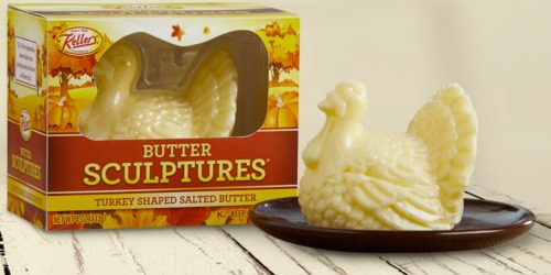 Your Family Will Gobble Up This Turkey-Shaped Butter at Thanksgiving