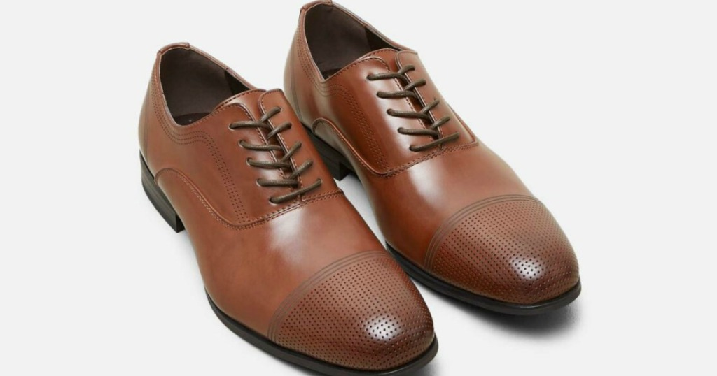 Kenneth Cole Cap Toe Oxford Shoes