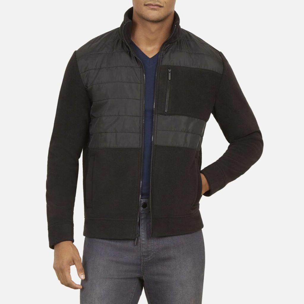 Kenneth Cole mock neck jacket