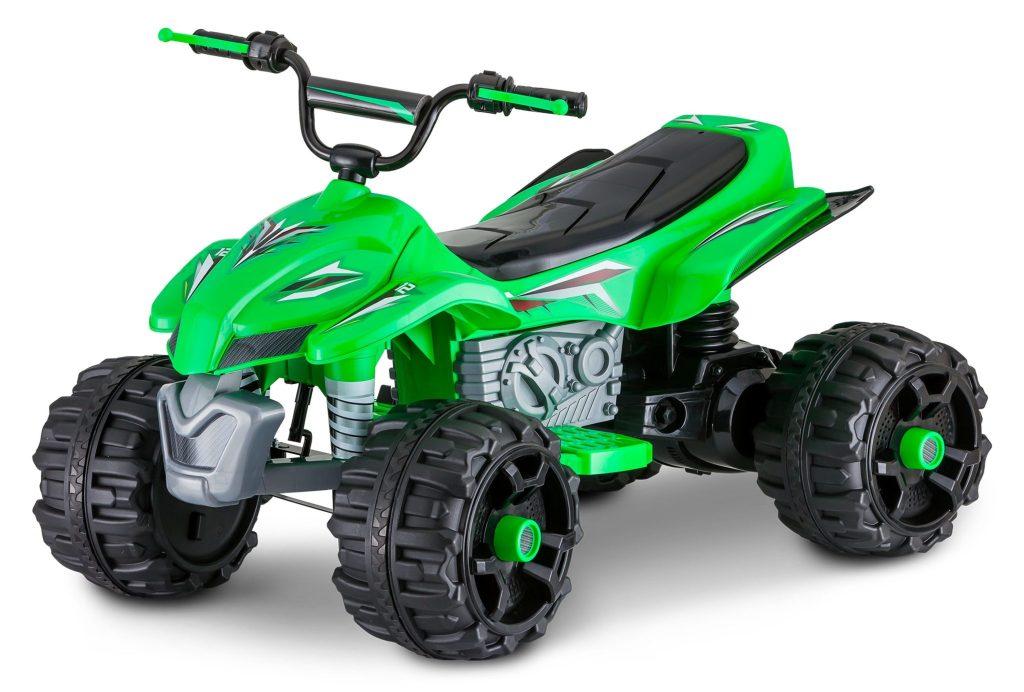 green Kid Trax Sport ATV 12-Volt Ride-On Toy