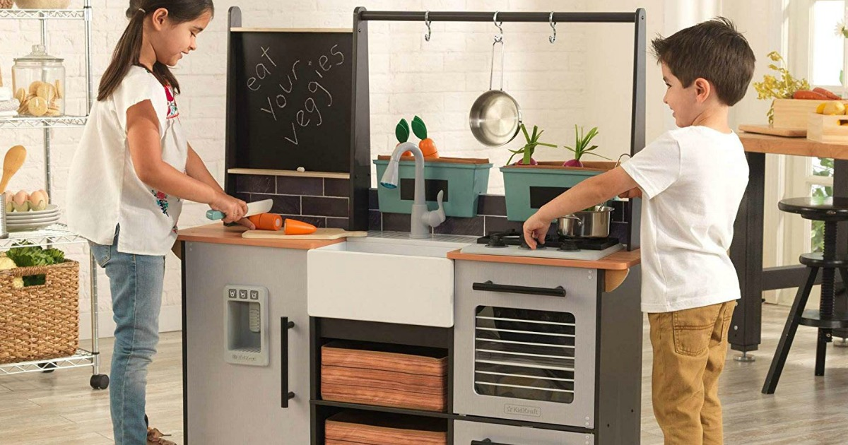 Kidkraft Farm To Table Play Kitchen Only 89 98 Shipped Regularly