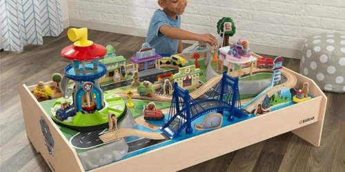 KidKraft PAW Patrol Train Table Only $119.99 Shipped at Walmart (Regularly $250) | Includes 70+ Accessories