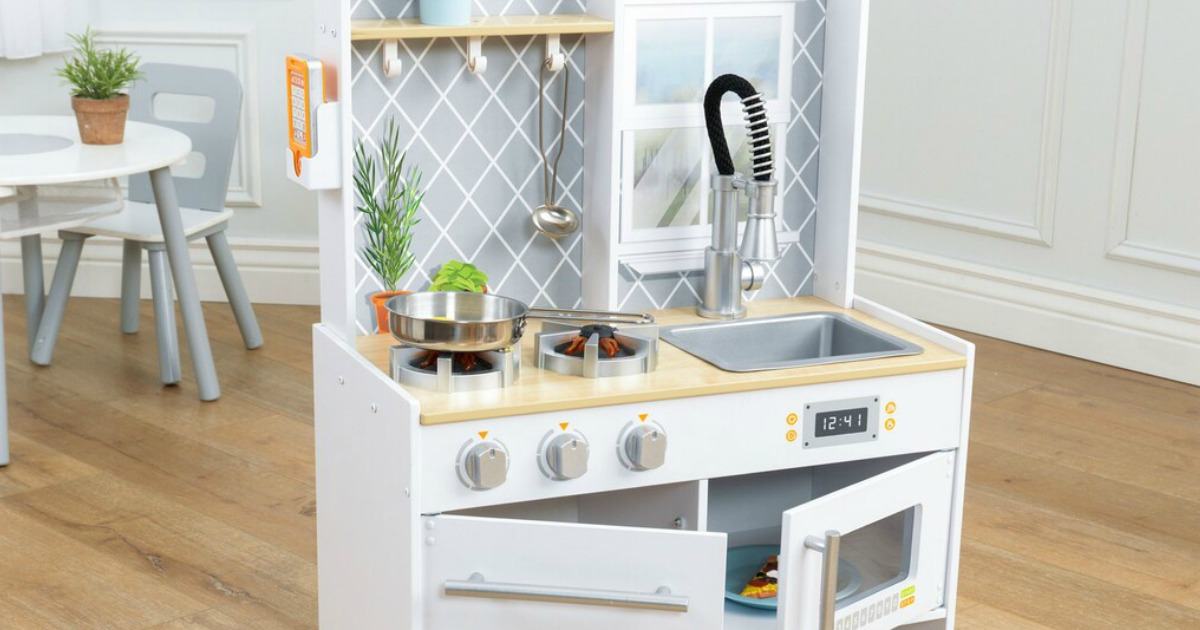 KidKraft Wooden Play Kitchen Only $69.99 Shipped + Get $10 ...