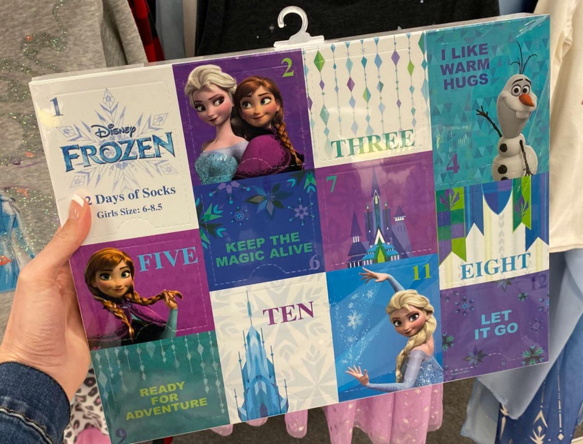 Kohl's Frozen 2 Socks Advent Calendar