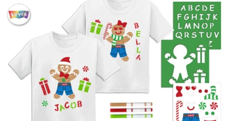 Free JCPenney Kids Zone Event: Create Free Shirt on December 14th
