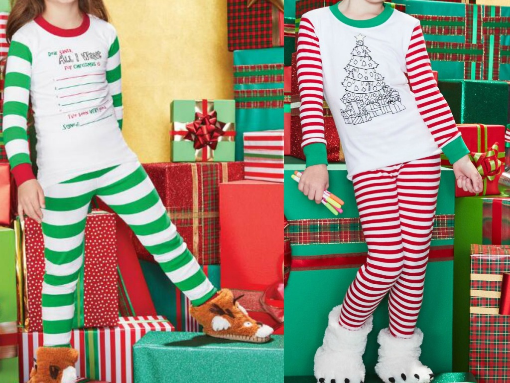 Chasing Fireflies Kids Holiday Pajamas
