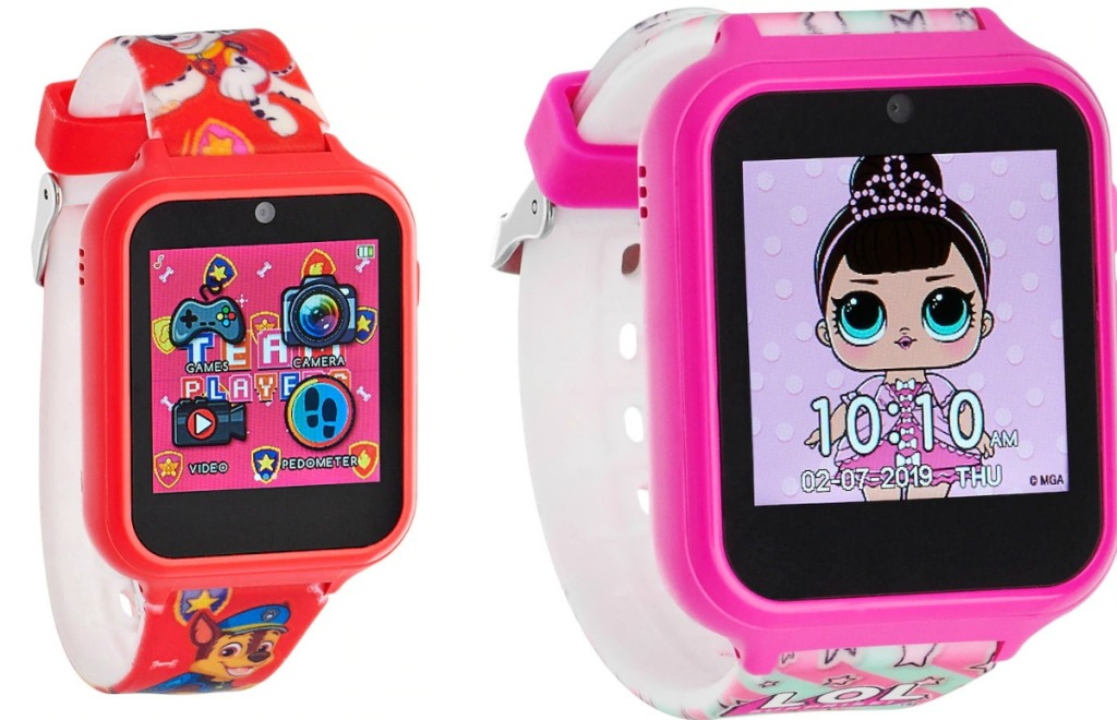 Kids Interactive Watches from Kohl's in two different styles