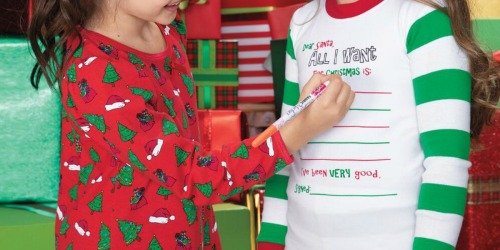 Chasing Fireflies Kids Holiday Pajama Sets as Low as $7.49 (Regularly $39)