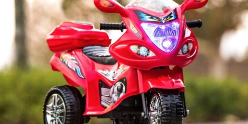 3-Wheel Motorcycle Ride-On Toys Only $43.99 Shipped | Awesome Reviews