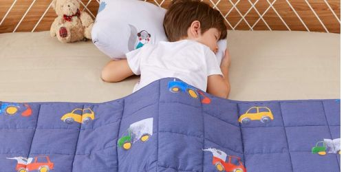 Kids Weighted Blankets as Low as $23.99 Shipped on Amazon