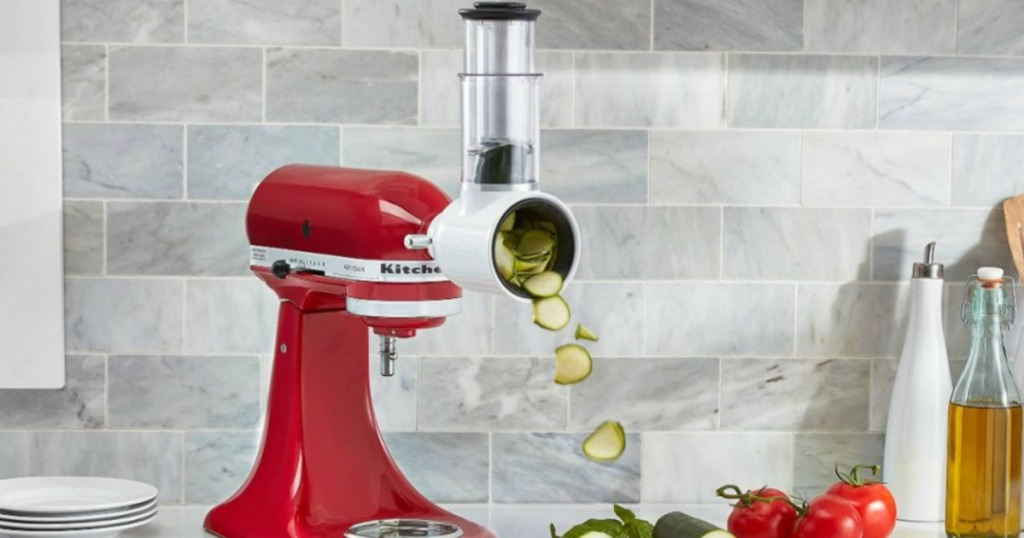 KitchenAid Slicer with vegetables