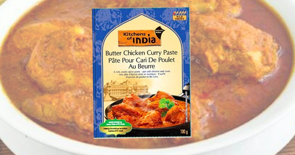 Kitchens of India Paste with Chicken