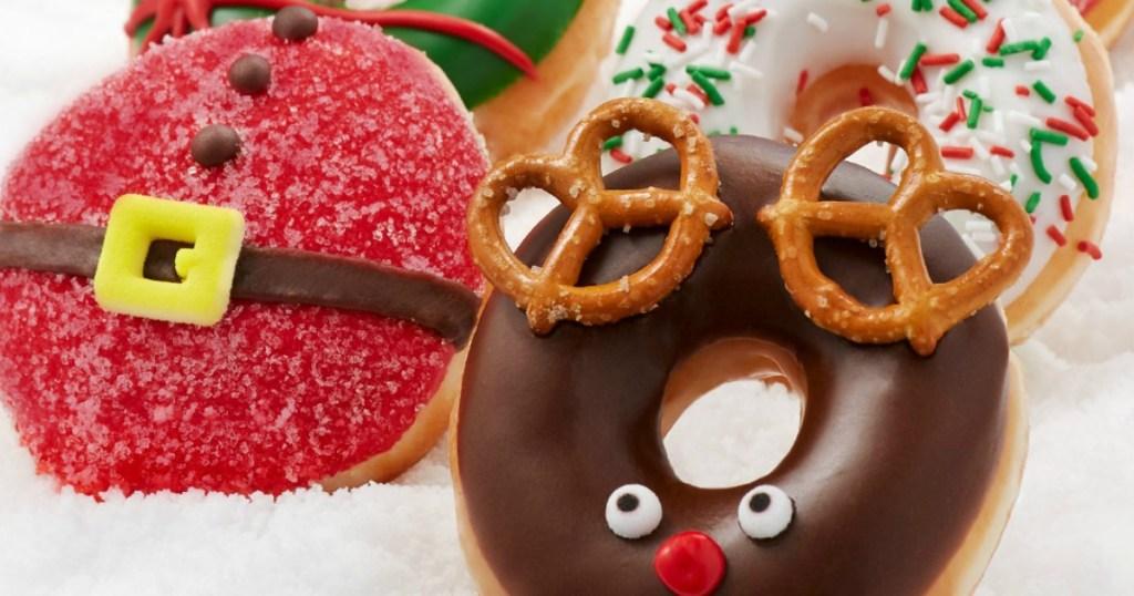 Krispy Kreme holiday donuts