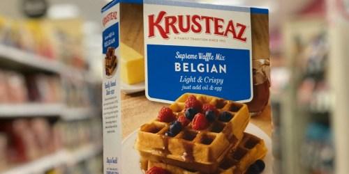 Krusteaz Pancake or Waffle Mix Only 9¢ at Target After Cash Back