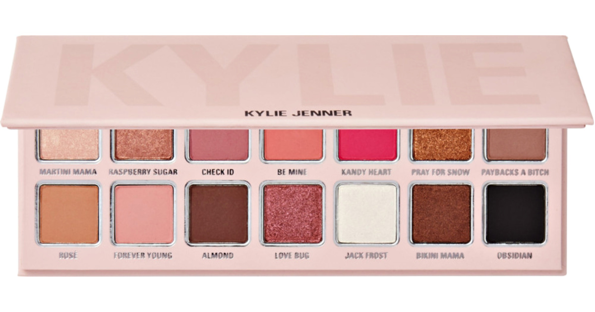 kylie cosmetics holiday shadow palette