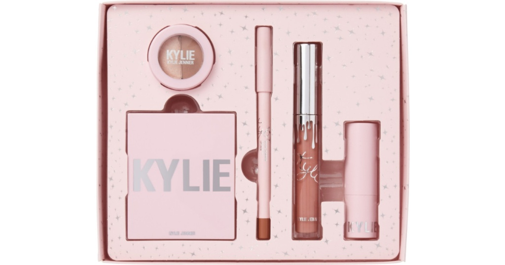 kylie holiday try kit