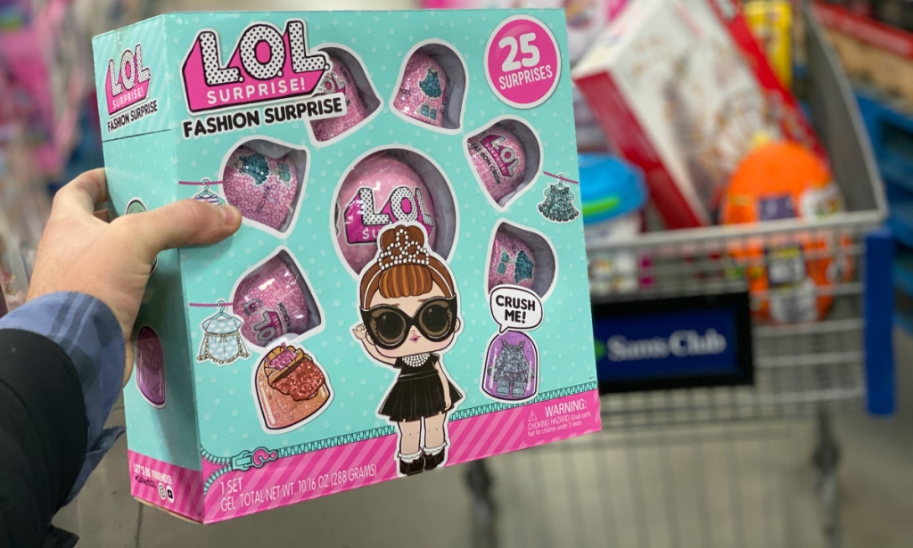 L.O.L Surprise! Tot Fashion Surprise 6-pack