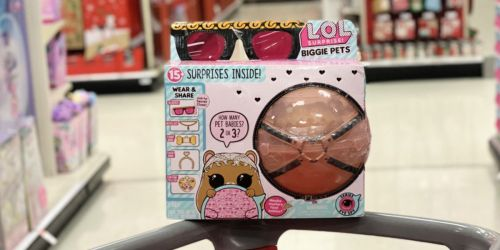 L.O.L. Surprise Biggie Pets Only $14.99 on Target.com + Up to 50% Off More Toys
