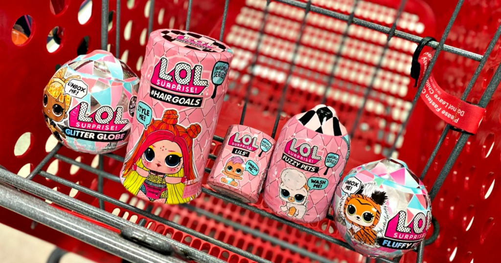 L.O.L. Surprise! Dolls in Target Cart