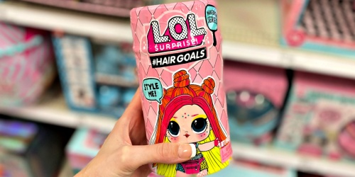 L.O.L. Surprise! Hair Goals Doll Only $6.99 on Target.com (Regularly $13) | 50% Off Hatchimals, LeapFrog & More
