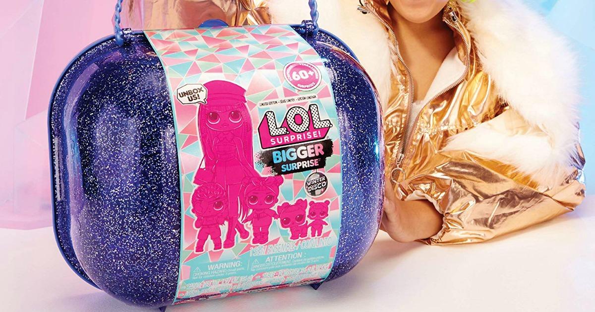 Winter Disco Bigger Surprise Includes O.M.G Surprise Fashion Doll L.O.L