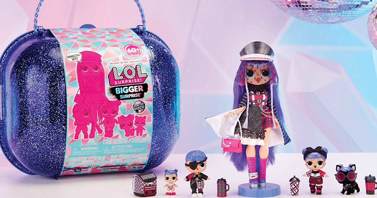 Kejutan LOL! Kejutan dan Boneka Winter Disco Bigger