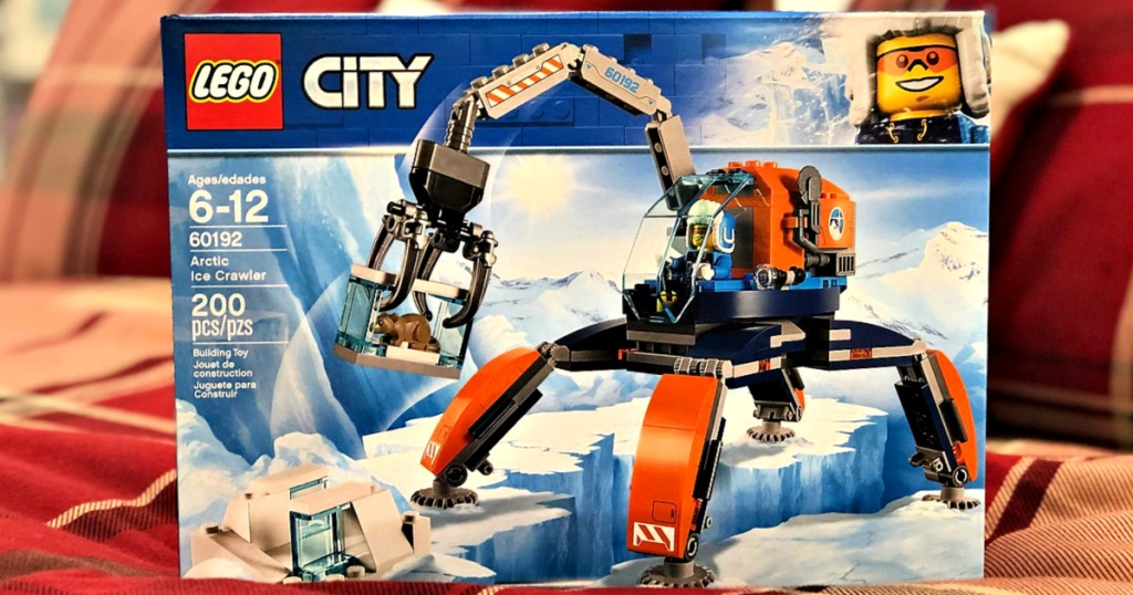 LEGO City Arctic Ice Crawler Building Kit