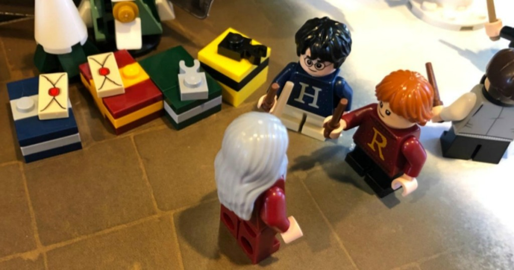 LEGO Harry Potter figures that comes with advent Calendar