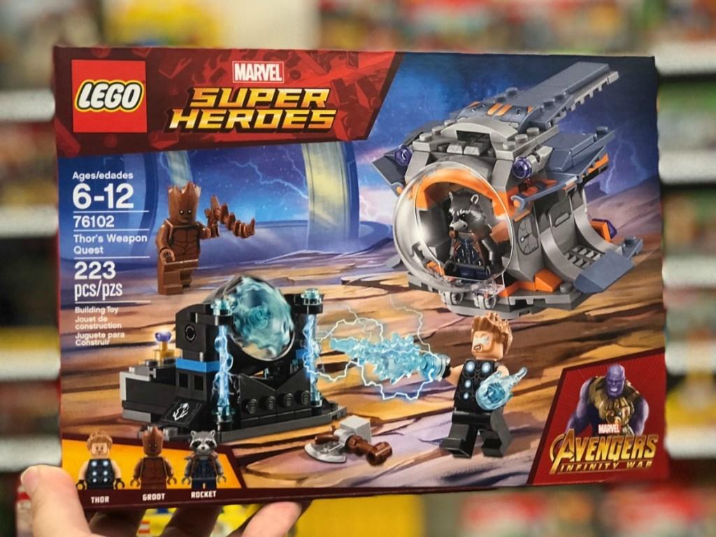 LEGO Marvel Avengers set