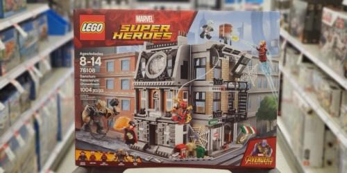 LEGO Marvel Avengers Building Kit + Holiday Disney Plush Only $64.97 Shipped (Regularly $120)