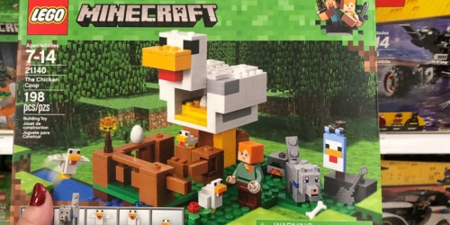 LEGO Minecraft The Chicken Coop Only $12.79 at Amazon (Regularly $20)