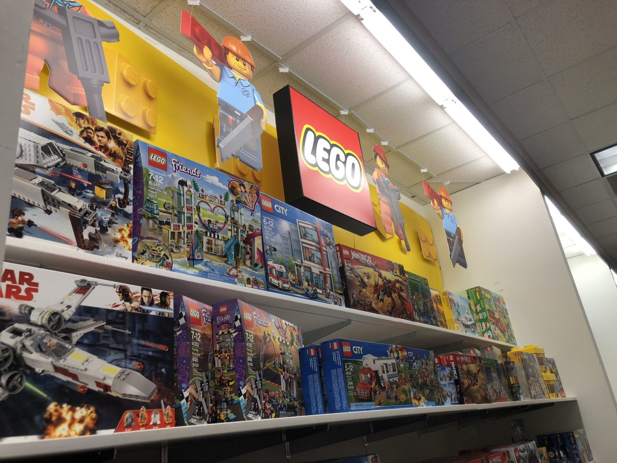 LEGO sets at Kohl's