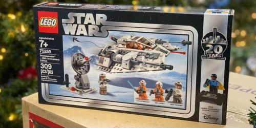 LEGO Star Wars Snowspeeder 20th Anniversary Edition Building Kit Only $20.97 (Regularly $40)