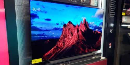 LG 55″ 4K Smart TV Only $299.99 Shipped (Regularly $400) | Black Friday Price