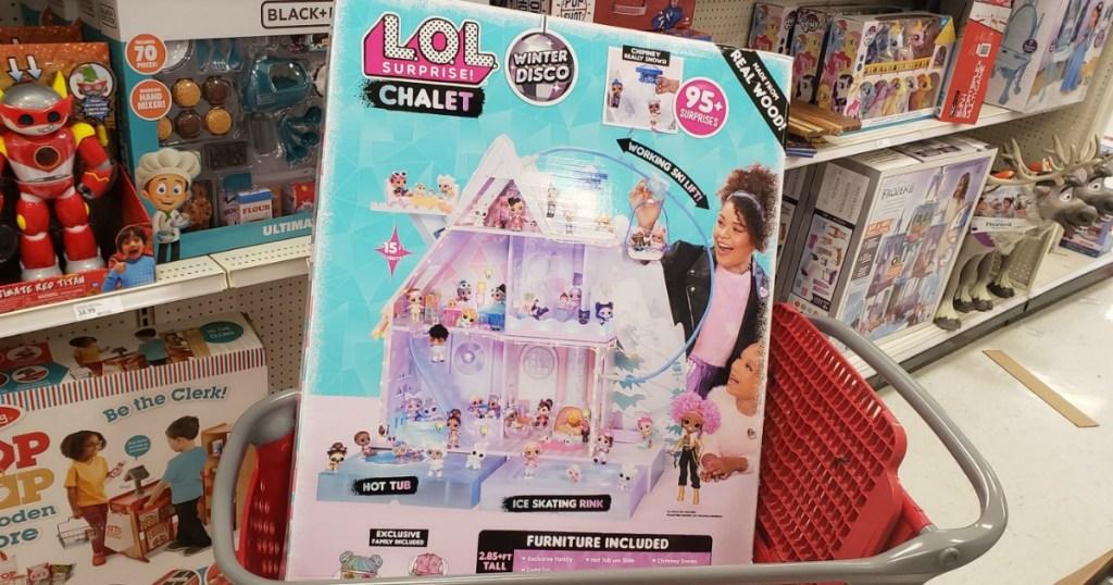 LOL Surprise Chalet in cart in Target