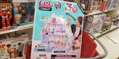 L.O.L. Surprise! Winter Disco Chalet Doll House as Low as $179 Shipped at Target & More