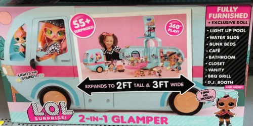 L.O.L. Surprise! 2-in-1 Glamper w/ 55+ Surprises Only $69.80 Shipped on Amazon (Regularly $100)