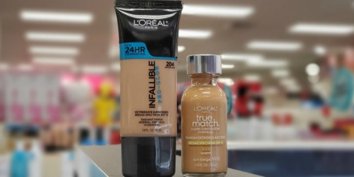 High Value $4/1 L'Oreal Paris Cosmetics Product Coupon
