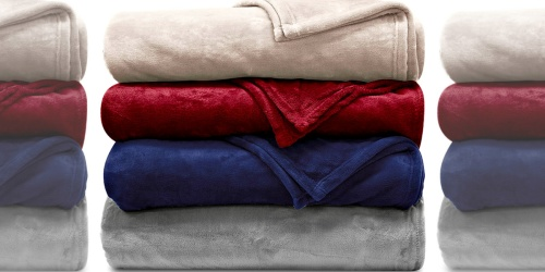 Ralph Lauren Plush Blankets Only $19.99 at Macy's (Regularly $90) | Includes ALL Sizes