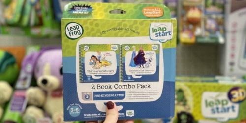 Over 50% Off LeapFrog LeapStart 2-Book Combo Packs at Target
