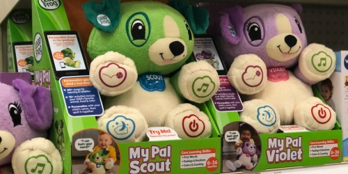LeapFrog My Pal Scout Plush Puppy Only $12.99 (Regularly $22)