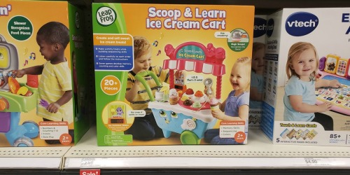 LeapFrog Scoop & Learn Ice Cream Cart Just $22.49 Shipped (Regularly $40)