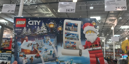 LEGO City Town Advent Calendar Only $14.97 at Costco + More