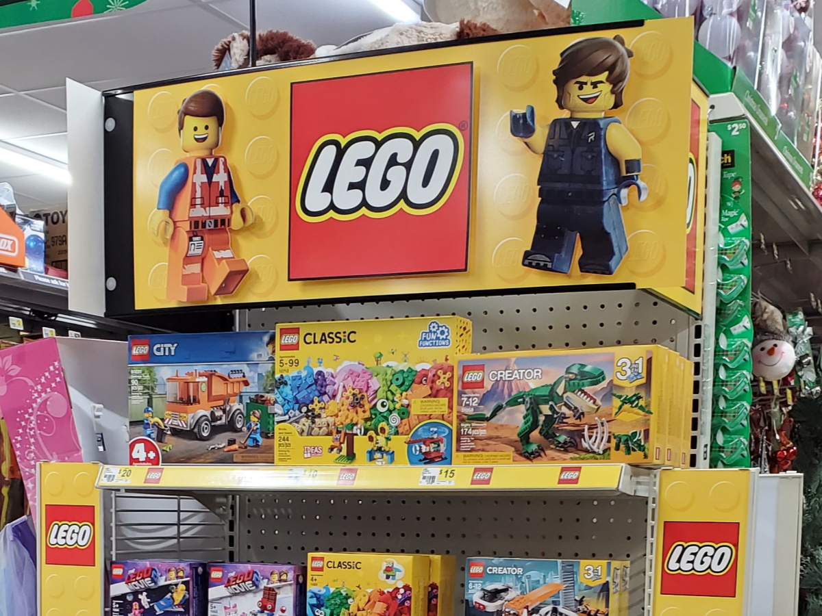 LEGO sets in store