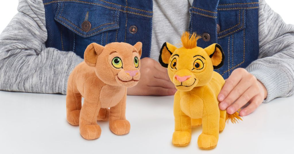 Lion King Plush Simba & Nala Bundle