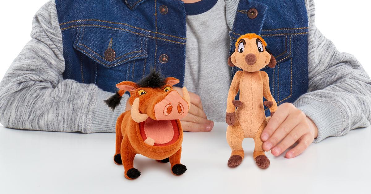 Lion King Plush Timon & Pumbaa Bundle