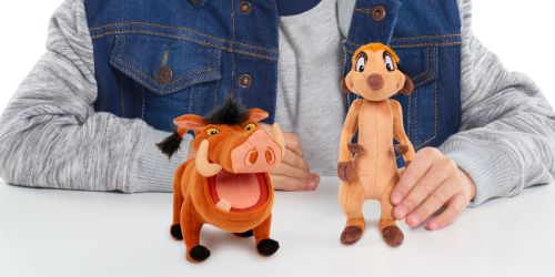 Up to 45% Off Disney Plushes Including Toy Story 4, Lion King & More | Great Stocking Stuffers