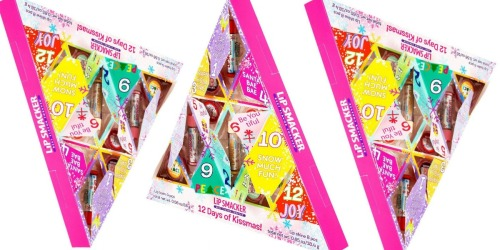 Lip Smacker Advent Calendar 12 Days of Kissmass Lip Set Only $8.50 Shipped at Target
