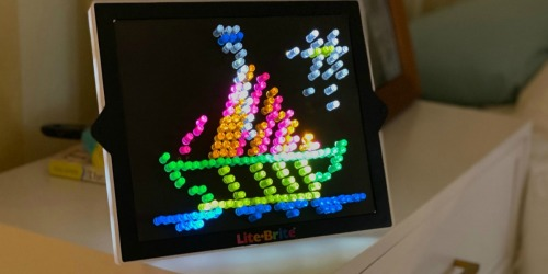 The Lite-Brite Classic Toy Will Light Up Your Christmas Morning (Well, If You've Got Batteries!)
