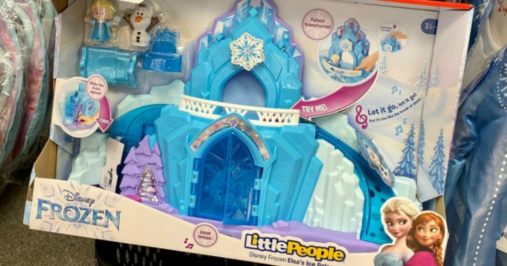 Little People Frozen Castle box